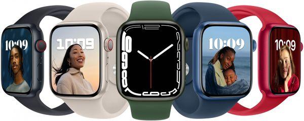 Chytré hodinky Apple Watch Series 6 Cellular velký Retina displej hliníkové pouzdro nastavitelný design vyměnitelný řemínek