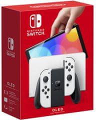 Nintendo Switch – OLED, bílá (NSH008)