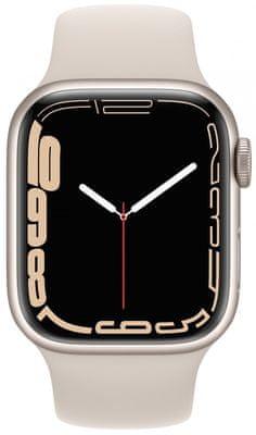 Chytré hodinky Apple Watch Series 6 Cellular pro běhání EKG sledování tepu srdeční činnost monitorování aktivity notifikace online platby Apple Pay tréninkové programy přehrávání hudby notifikace volání