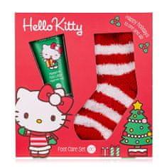 Accentra Dárková sada péče o nohy s ponožkami Hello Kitty