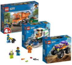LEGO City Great Vehicles 66686 Výhodné balení 3v1