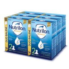 Nutrilon 2 Advanced pokračovací kojenecké mléko 6x 1 kg, 6+