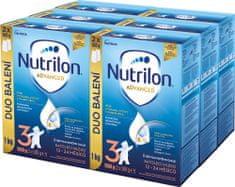 Nutrilon 3 Advanced batolecí mléko 6x 1 kg, 12+