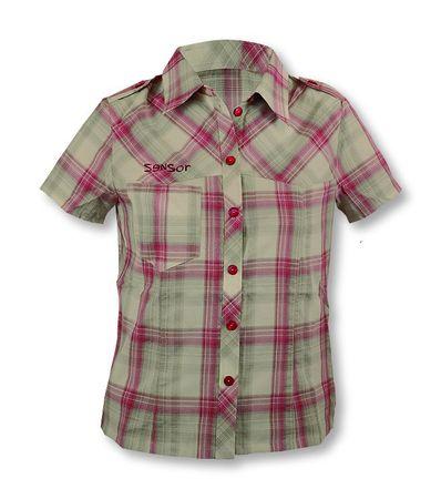 Sensor ženska srajca S-siva